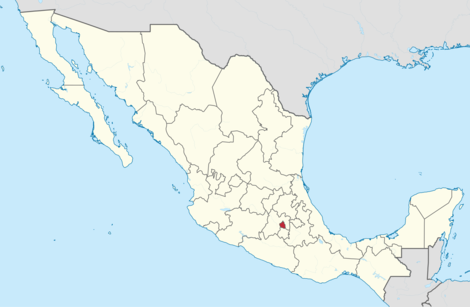 geography game states of mexico